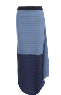 Льняная юбка-миди асимметричного кроя J.W. Anderson