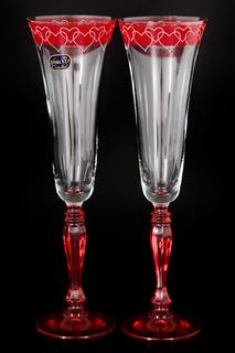 Набор фужеров для шампанского Bohemia Crystall