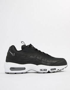 Черные кроссовки Nike Air Max 95 SE AQ4129-002 - Черный