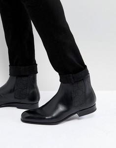 Черные кожаные ботинки челси Ted Baker Kayto - Черный