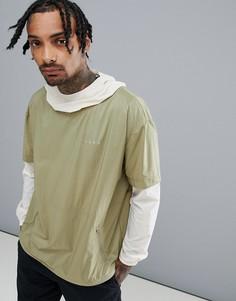 Куртка с двухслойным эффектом ASOS 4505 - Зеленый