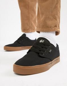 Черные кроссовки Etnies Jameson 2 ECO - Черный