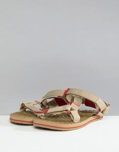 Коричнево-красные сандалии The North Face Base Camp - Бежевый