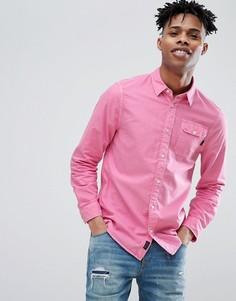 Ярко-розовая оксфордская рубашка Jack Wills - Розовый