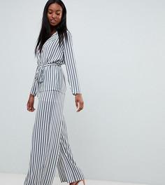 Широкие брюки в полоску Missguided Tall - Мульти
