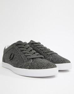 Серые меланжевые кроссовки Fred Perry - Серый