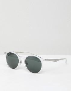 Круглые солнцезащитные очки Ray-Ban - Очистить