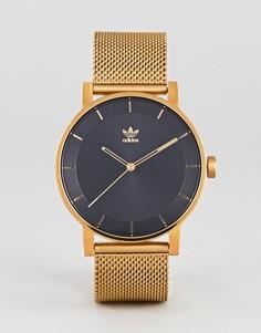 Золотистые часы Adidas Z04 District - Золотой