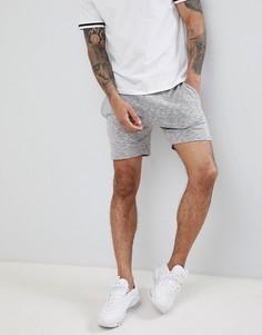 Серые шорты с принтом тай-дай boohooMAN - Серый