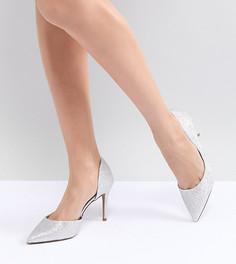 Туфли на высоком каблуке ASOS DESIGN - Серебряный
