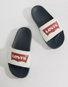 Шлепанцы с логотипом Levis - Белый Levis®