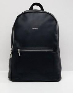 Рюкзак из искусственной кожи ASOS DESIGN - Черный