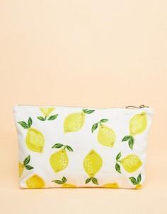 Дорожная сумка-клатч 20 x 30 см с лимонами Elizabeth Scarlett - Мульти