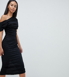 Кружевное платье миди ASOS DESIGN Tall - Черный