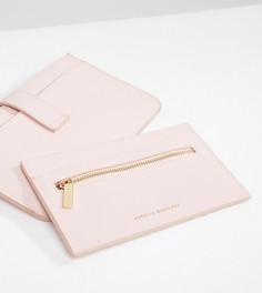 Дорожный бумажник с надписью Pink Skies Ahead и кошелек для карт розового цвета Estella Bartlett - Розовый