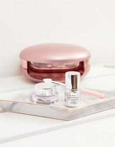 Маникюрный набор с голографической пудрой Le Mini Macaron - Бесцветный