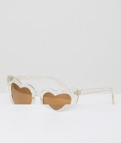 Солнцезащитные очки кошачий глаз AJ Morgan - Очистить