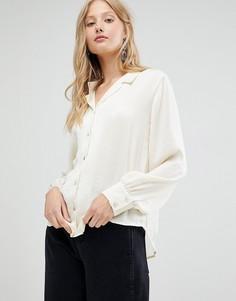 Рубашка с открытым воротом d.RA - Белый