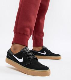Черные кроссовки на резиновой подошве Nike Sb Zoom Janoski - Черный