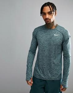 Зеленый свитшот Nike Running 910034-328 - Зеленый