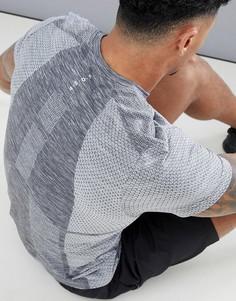 Серая бесшовная футболка ASOS 4505 - Серый