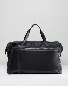 Сумка с сетчатой отделкой Yoki Fashion - Черный