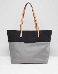 Черная сумка-шоппер Yoki Fashion - Черный