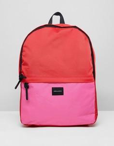 Рюкзак колор блок (красный/розовый) ASOS DESIGN - Красный
