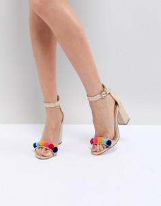 Босоножки на блочном каблуке Miss KG Evelyn - Мульти