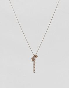 Золотистое ожерелье с подвеской ALDO - Золотой