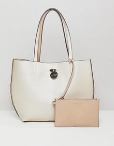 Двусторонняя сумка-тоут Carvela - Бежевый
