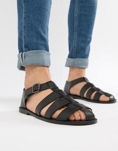 Черные сандалии ASOS DESIGN - Черный