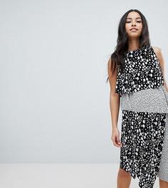 Двухслойное платье ASOS DESIGN Maternity - Мульти