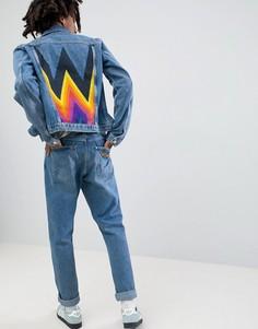 Джинсовая куртка Wrangler - Синий