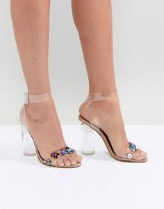 Босоножки на каблуке Steve Madden - Очистить