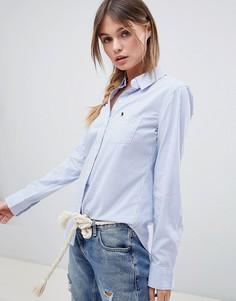 Приталенная рубашка в полоску Abercrombie & Fitch - Мульти