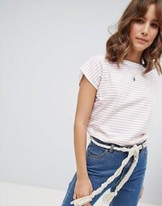 Футболка в полоску M.i.h Jeans - Розовый