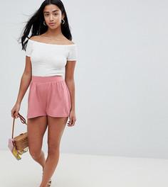 Розовые шорты-кюлоты ASOS DESIGN Petite - Розовый