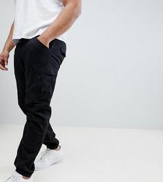 Черные брюки карго Replika Plus - Черный