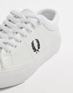 Кожаные кроссовки Fred Perry Kendrick - Белый