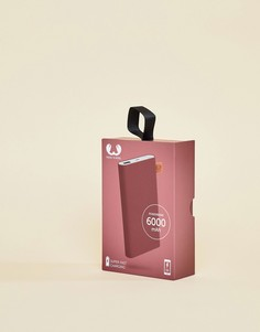 Портативное зарядное устройство емкостью 6000 мАч Fresh N Rebel - Красный