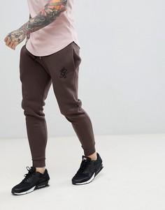 Темно-коричневые спортивные штаны Gym King - Коричневый