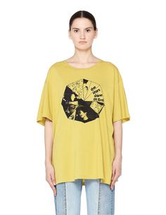 Хлопковая футболка Stars Shine Enfants Riches Deprimes