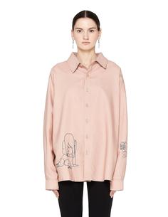 Розовая рубашка Femme Triste Enfants Riches Deprimes