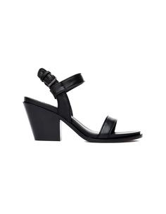 Черные сандалии на каблуке A.F.Vandevorst