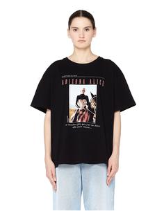Черная футболка Arizona Alice Enfants Riches Deprimes