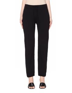 Черные трикотажные брюки James Perse