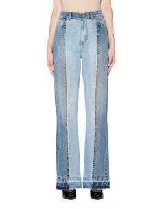 Голубые джинсы со стрелками Golden Goose