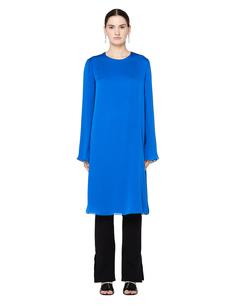 Шелковое платье с длинным рукавом The Row