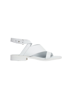 Белые кожаные сандалии A.F.Vandevorst